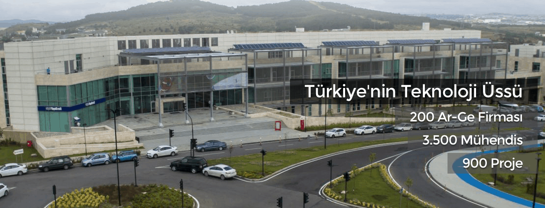 We moved to Teknopark Istanbul